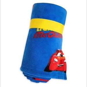 Lightning Mcqueen plush blanket!